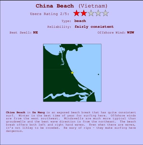 China Beach Surf Forecast And Surf Reports Da Nang Vietnam