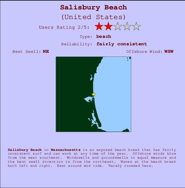 Salisbury Beach Surf Forecast And Surf Reports Massachusetts Usa