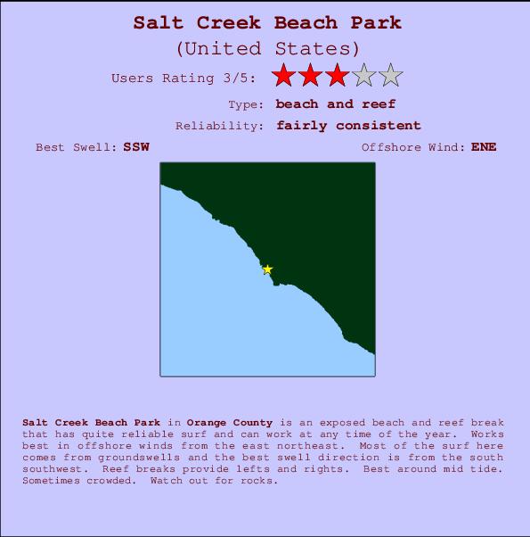 Salt Creek Beach Park Surf Forecast And Surf Reports Cal Orange