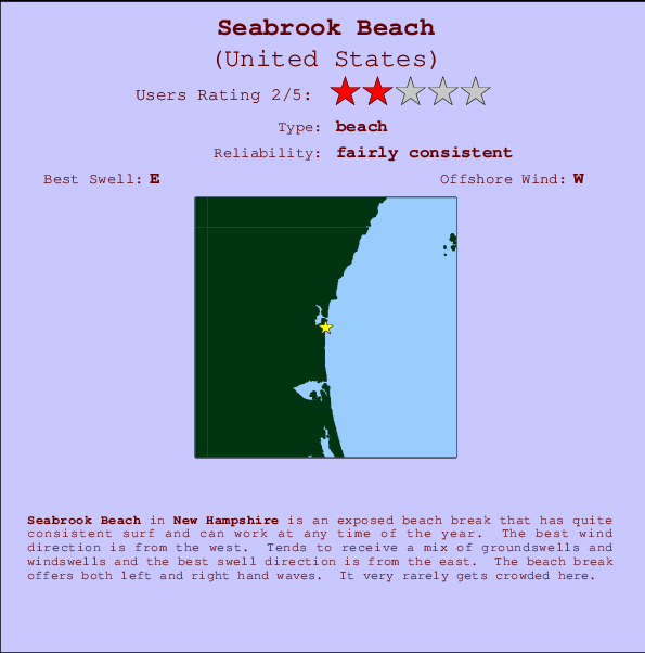 Seabrook Beach Surf Forecast And Surf Reports New Hampshire Usa