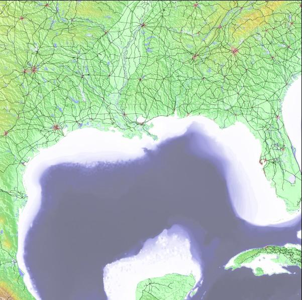 Us Gulf Coast Surf Forecast And Eyeball Surf Report