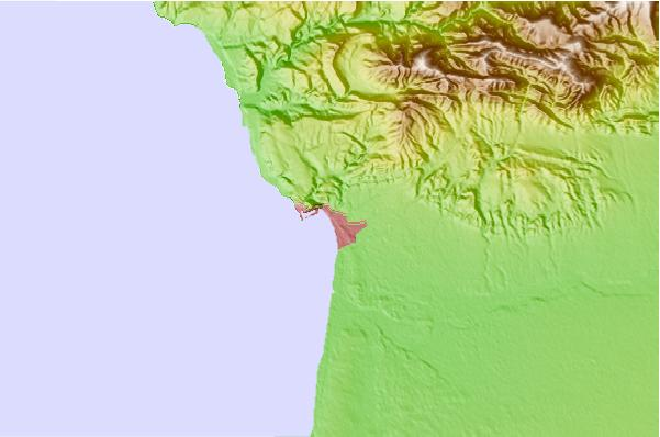 Surf spots located close to Agadir