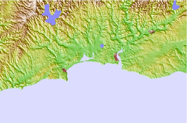Alvor Surf Forecast And Surf Reports Algarve Portugal - Portugal map alvor