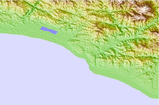 Surf spots located close to Carrizalillo