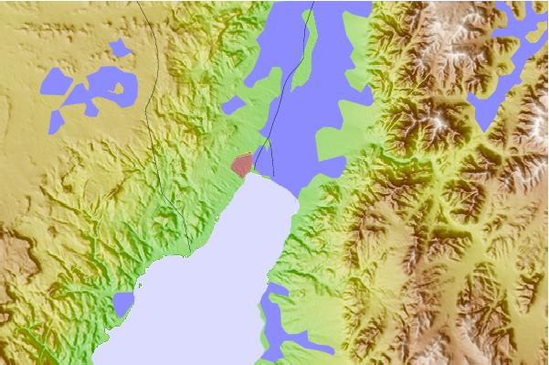 Surf spots located close to Eilat (Green Beach)