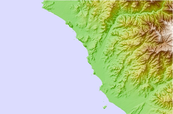Surf spots located close to Ensenada