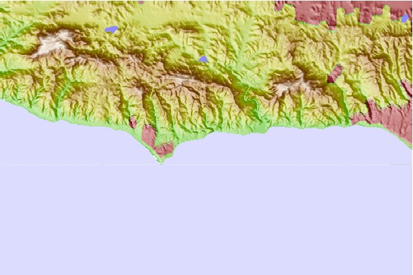Surf spots located close to Latigo Point