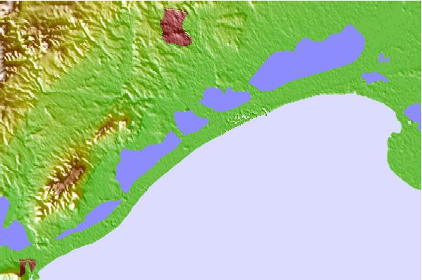 Surf spots located close to Maguelone