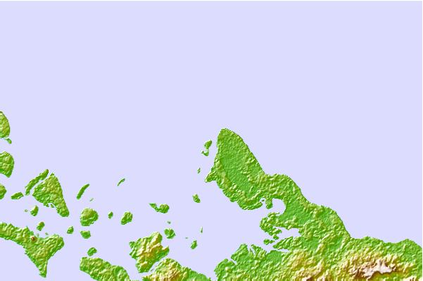 Surf spots located close to Nusa