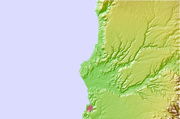 Surf spots located close to Piscinas