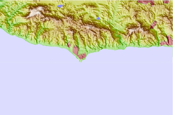 Surf spots located close to Point Dume Little Dume