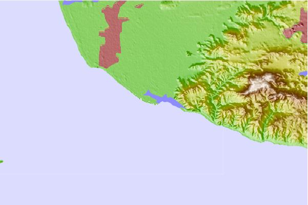 Surf spots located close to Point Mugu