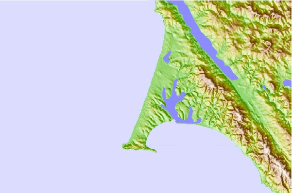 Surf spots located close to Point Reyes Beach