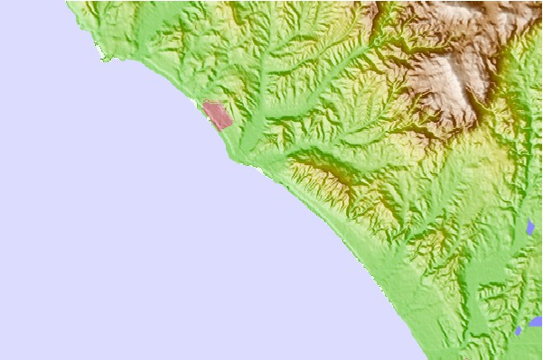 Surf spots located close to San Onofre