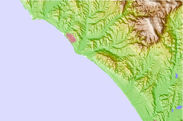 Surf spots located close to San Onofre - Trails