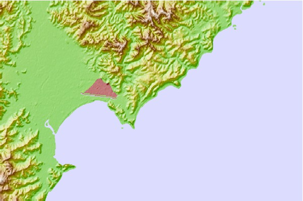 Surf spots located close to Wainui Beach - Whales