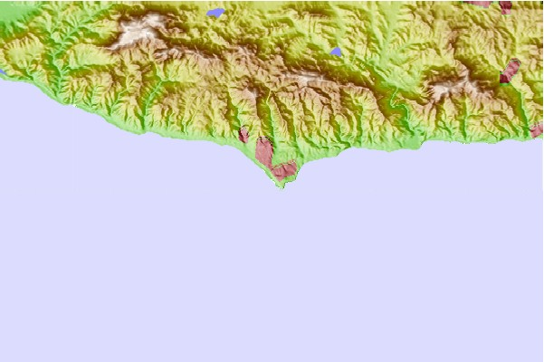 Surf spots located close to Westward Beach/Point Dume