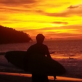 sunset at the surf shack, Kudat (Pantai Kosuhui)