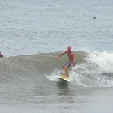 Small but clean right hander, Urbiztondo Beach
