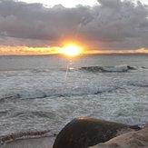 Sunrise @ Woorim pipe, Bribie Island
