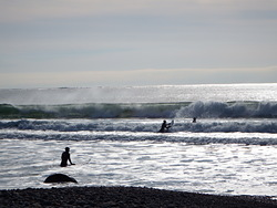 surfers on a Sunday, Hirtle's Beach (Hartling Bay) photo