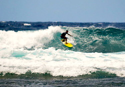Surfer, Zezito Barbosa, Pango Point photo