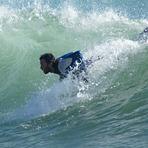 peleando con la ola, Port Ginesta