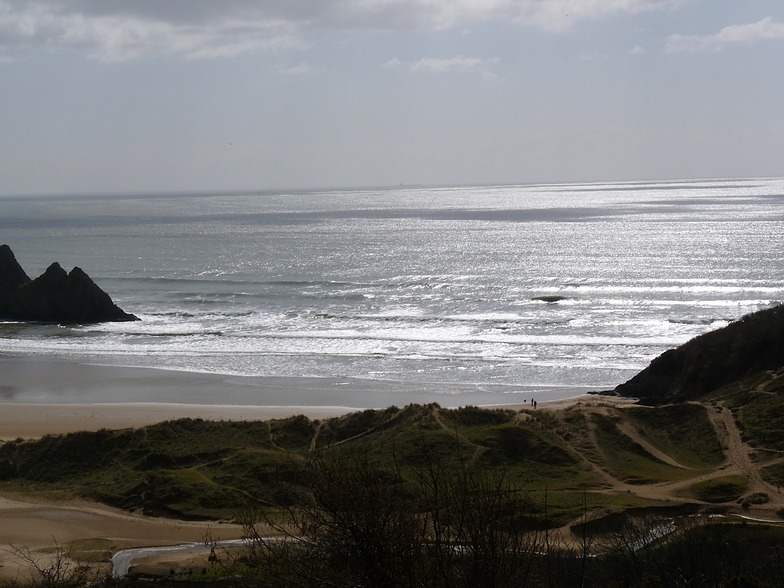 Incoming Neap Tide, Three Cliffs Bay