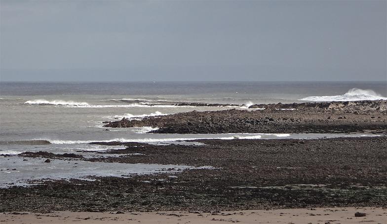 Port Eynon point and beach