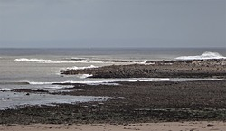 Port Eynon point and beach photo