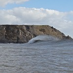 Three cliffs, the odd peak formed well., Three Cliffs Bay