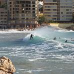 Surf en la Cala de Finestrat, Playa Finestrat