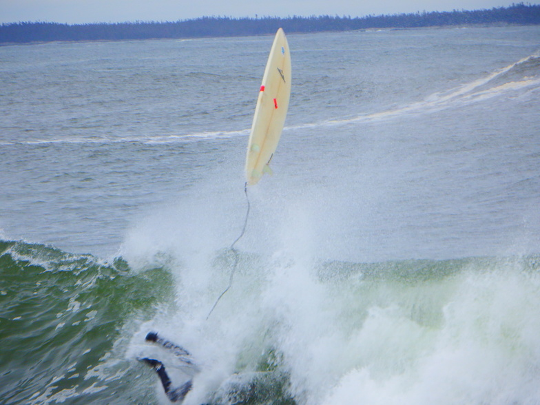 wipeout, Broad Cove