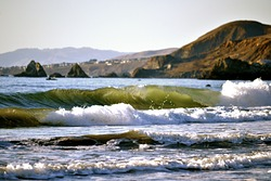 Green Tube, Dillon Beach photo
