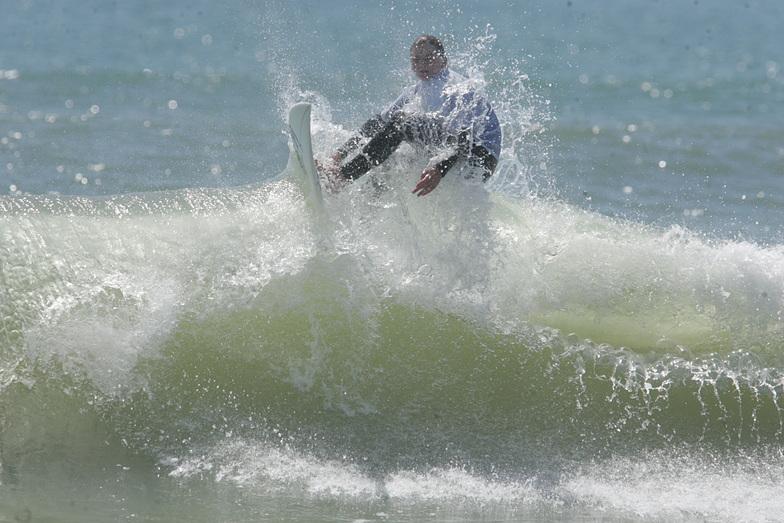 high surfer, Rodanthe Pier