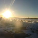 Early bird catches the worm, Ocean Beach