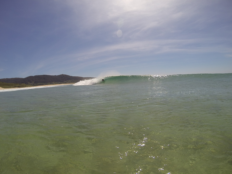 bodyboard doniños outeiro, Playa de Doninos