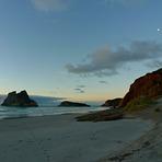Autumn Evening, Wharariki Beach