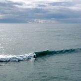 Long period swell, Fletchers Beach