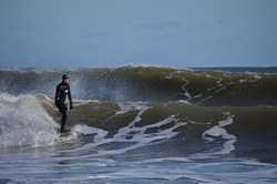Winter Swell in Cow Bay photo