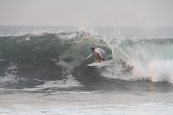 Inside barrel, Punta Roca photo
