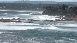 Tomaga Rivermouth, southerly front photo