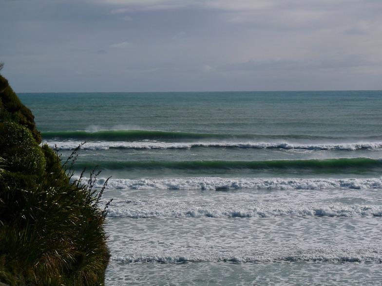 High Tide, Wharariki Beach