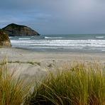 Cross-off wind, Wharariki Beach