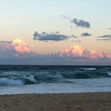 stormy sunset, Yaroomba Beach