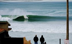 Perfect left, Baja Malibu photo