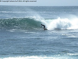 Sahara Surf - Surfing Sidi Ifni river mouth photo