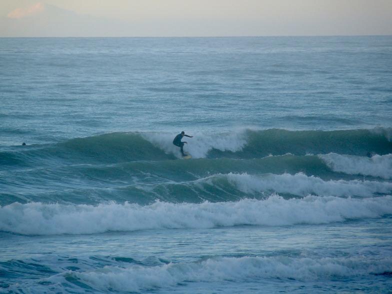 Schanppers - falling tide, Schnappers Point