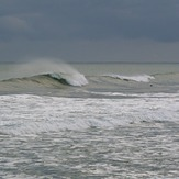 Morning surf at Paturau, Paturau River