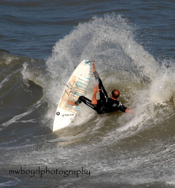 dynamic slash, Bob Hall Pier